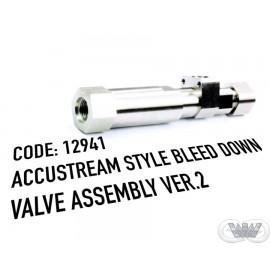 ACCUSTREAM STYLE BLEED DOWN VALVE V2