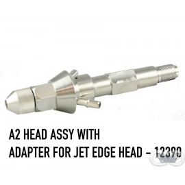 A2 HEAD ASSEMBLY WITH JET EDGE ADAPTER
