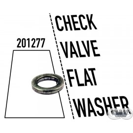 CHECK VALVE FLAT WASHER