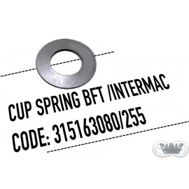 CUP SPRING BLEED DOWN VALVE - INTERMAC /BFT STYLE