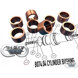 B074.04 CYLINDER BUSHING FOR CMS GREENJET