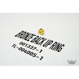 BACK UP RING BRONZE PNEUMATIC VALVE -  001337-1