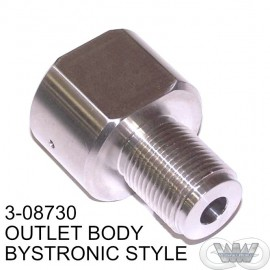 OUTLET BODY CHECK VALVE BYSTRONIC STYLE