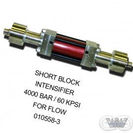 SHORT BLOCK INTENSIFIER 4000 BAR - 60KPSI FLOW STYLE