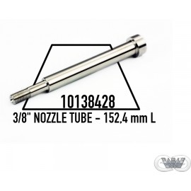 """3/8"""" NOZZLE TUBE - 152,4 mm L (6,000"""") KMT STYLE"""