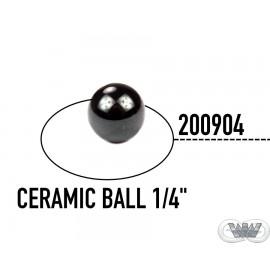 "CERAMIC BALL 1/4"""