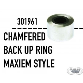 CHAMFERED BACK UP RING MAXIEM STYLE