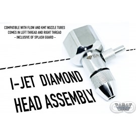 I-JET CUTTING HEAD ASSEMBLY WITH INTEGRATED DIAMOND