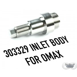 INLET BODY FOR OMAX CUTTING HEAD
