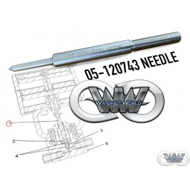 05-120743 NEEDLE FOR UHDE 6000 BAR ON OFF VALVE