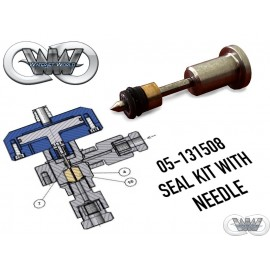 05-131508 SEAL KIT WITH NEEDLE FOR UHDE PNEUMATIC VALVE