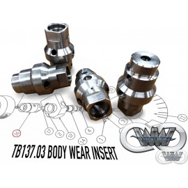 TB137.03 WEAR INSERT BODY FOR CMS TECNOCUT