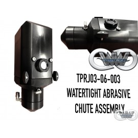 PRJ-03-06-003 WATERTIGHT ABRASIVE CHUTE ASSY FOR CMS