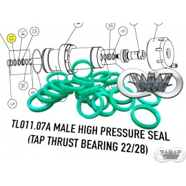 TL011.07A TAP THRUST BEARING MALE SEAL CMS