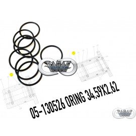 05-120526 ORING OIL SEAL UHDE