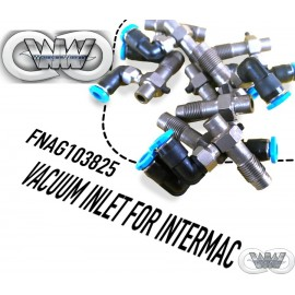 FNAG103825 INLET TUBE WITH VACUUM FOR INTERMAC